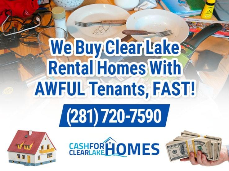 clear lake difficult tenants