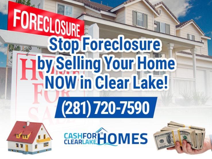 clear lake foreclosure